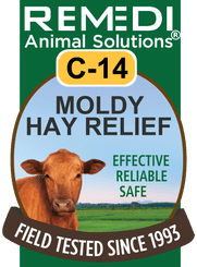 Moldy Hay Relief for Cattle, C-14