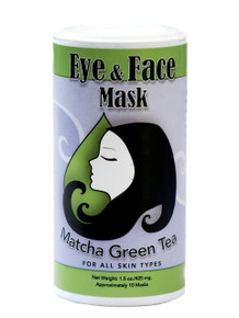 Muddy H2O Matcha Green Tea Eye & Face Mask