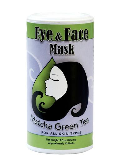 Muddy H2O Matcha Green Tea Eye & Face Mask