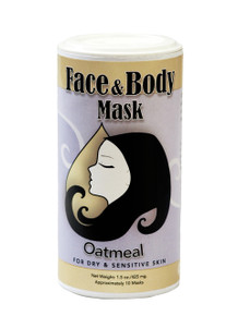 Muddy H2O Oatmeal Face & Body Mask 1.5 oz