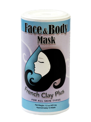 Muddy H2O French Clay Face and Body Mask 1.5 oz