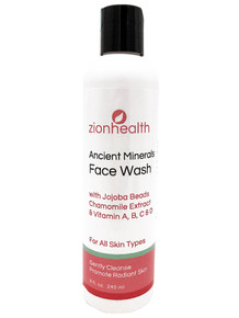 Zion Health Adama Face Wash 8 oz For All Skin