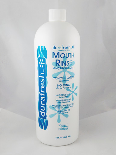 Durafresh Mouth Rinse 32 fl. oz Front