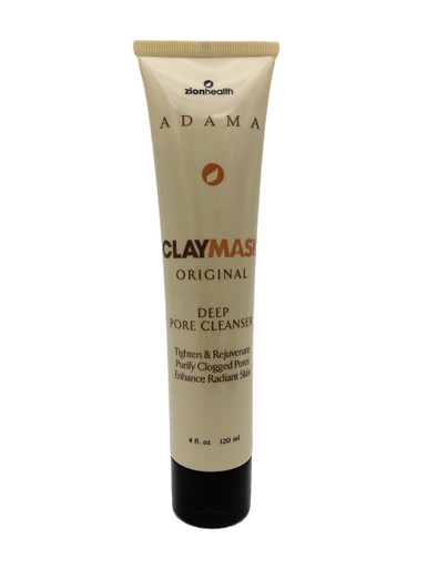 Adama Clay Mask Deep Pore Cleanser 4 fl oz 120 ml Original
