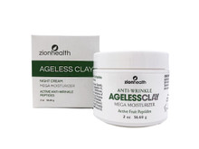 Ageless Clay Anti-Wrinkle Cream Zion Health 2oz