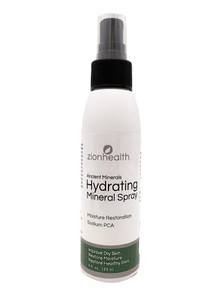 Zion Health Hydrating Mineral Face Spray 4 fl oz