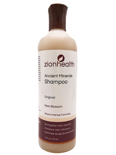 Zion Health Ancient Minerals Shampoo 16 oz Original