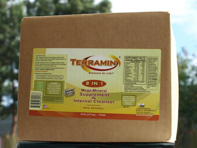Terramin Powder 20 lbs Calcium Montmorillonite Clay