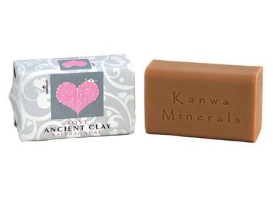 Zion Health Ancient Clay Soap Love 6 oz, 170g