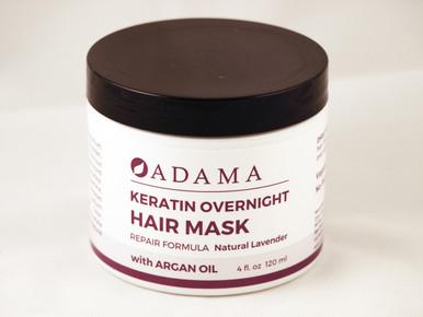 Adama Keratin Overnight Hair Mask Lavender Front