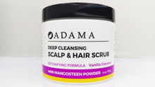 Deep Cleansing Scalp and Hair Scrub with Mangosteen Powder