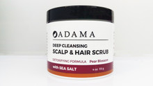 Deep Cleansing Scalp and Hair Scrub with Sea Salt by Adama