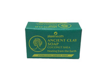 Zion Health Ancient Clay Soap Coconut Shea Front