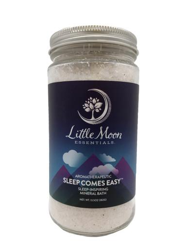 Little Moon Essentials Mineral Bath Salts 4 oz Sleep Comes Easy