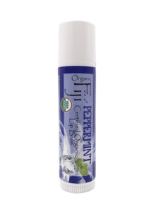 Organic Fiji Lip Balm .15 oz Peppermint