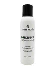 Zion Health Age Defense Cleansing Balm 4 oz