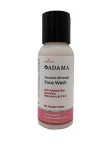 Zion Health Adama Face Wash 2 oz Travel Size For All Skin