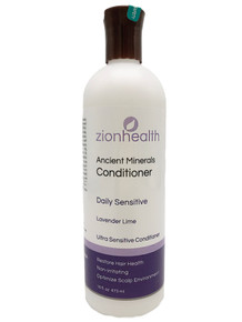 Zion Health Ancient Minerals Conditioner 16 oz Sensitive