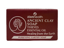 Zion Health Ancient Clay Soap 6oz Thieves