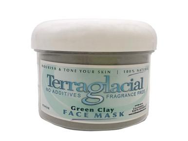California Earth Minerals Terraglacial 8 oz Green Clay Face Mask