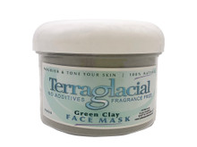 California Earth Minerals Terraglacial 8 oz Green Clay Face Mask