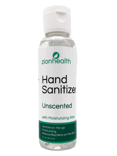Zion Health Hand Sanitizer Gel 2 oz