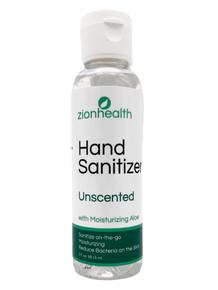 Zion Health Hand Sanitizer Gel 2 oz