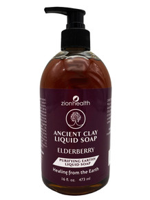 Zion Health Liquid Soap 16 oz Elderberry