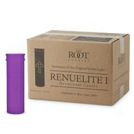 6 Day Budded Cross Renuelite™ Purple Case of 24