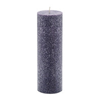 3 x 9 Purple Advent Pillar