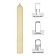 1-1/2 X 12, 51% Beeswax Altar Candle[Dozen]