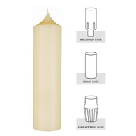 2 X 18, 51% Beeswax Altar Candle[Box of 6]