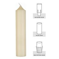 1-45/64 X 10, 100% Beeswax Altar Candle[Dozen]
