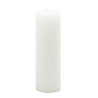 4 x 17 White Advent Pillar
