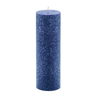 3 x 12 Blue Advent Pillar