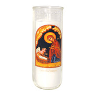 Lumen Christi Holiday Lights Icon Decal