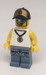 LEGO Series 3 Collectible Minifigure Rapper