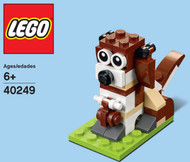 LEGO St. Bernard Mini Build Parts & Instructions Kit