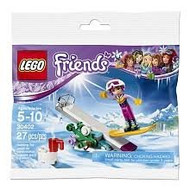 LEGO Friends Snowboard Tricks #30402