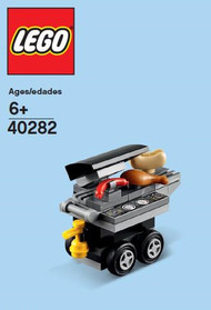 LEGO BBQ Mini Build Parts & Instructions Kit (2018)