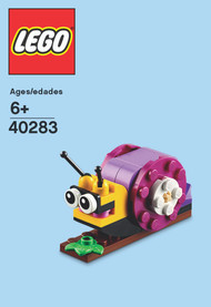 LEGO Snail Mini Build Parts & Instructions Kit