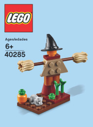 LEGO Witch Scarecrow Mini Build Parts & Instructions Kit