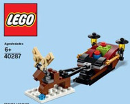 LEGO Sleigh Mini Build Parts & Instructions Kit