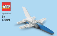 LEGO Fighter Jet Mini Build Parts & Instructions Kit