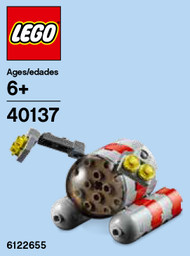 LEGO Submarine Mini Build Parts & Instructions Kit