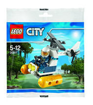 LEGO City: Swamp Police Helicopter Set 30311 (Bagged)
