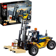 LEGO Technic Heavy Duty Forklift 42079 Building Kit (592 Pieces)