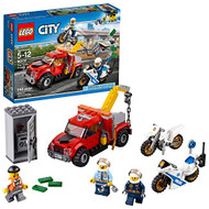 LEGO City Police Tow Truck Trouble 60137 Building Toy (144 Pieces)