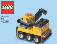 LEGO Crane Mini Build Parts & Instructions Kit