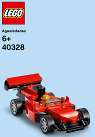 LEGO Racecar Mini Build Parts & Instructions Kit